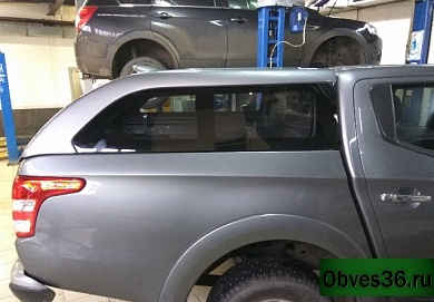Кунг Canopy Fixed Window для пикапа Mitsubishi L200 от 2015 года.